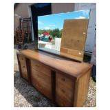 ZN mid-century modern dresser 9 drawer by Kent