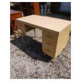 ZN mid-century modern desk 44 in wide 23 in deep
