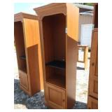 ZI bookcase 22in wide 18in deep 76 in tall
