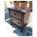 ZN night stand 24 in wide 18 in deep 24 in tall