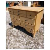 ZN 9 drawer dresser made by Ragaxxi 53 in wide 21