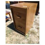 ZN 2 drawer filing cabinet 15 in wide 19 in deep