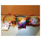 Three new ribbon headbands