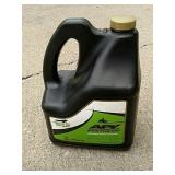 3/4 gallon 2 cycle motor oil.