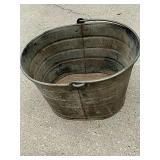 Seaway heavy gauge galvanized wringer bucket.