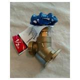 American valve brass 1/2 inch sillcock new.