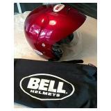 Bell helmet size large.