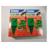 16 terro liquid ant bait stakes, pre-filled and