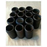 Q1 14 wax cylinders for vintage Edison phonograph.