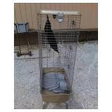 FE ferret cage 30 inches wide 18 in deep 48 in