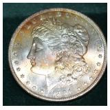 Superb 1891-CC Morgan Dollar