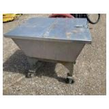 Stainless steel vat