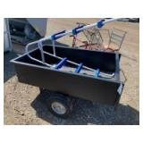 Garden cart and pool ladder
