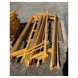 Scaffolding rails