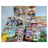 Comic books incl. Spiderman and Superman