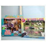 Horse & farm animal toy sets