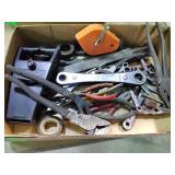Pliers, files, hand tools