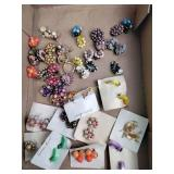 Costume jewelry: earrings