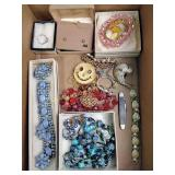 Costume jewelry: necklaces, bracelets, ring