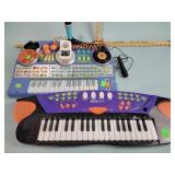 (2) Toy keyboards