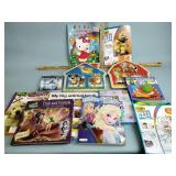 PS3 game, coloring books, children