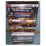 DVDs including It, Unforgiven