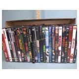 DVDs including Avengers, Batman, Deadpool