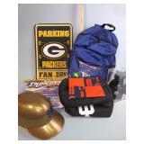 New York Giants backpack, Indiana Hoosiers