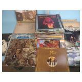 Records including Chicago, Led Zeppelin,