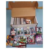 Baseball, basketball, & football cards