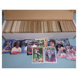 Score, Topps & Fleer baseball cards