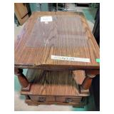 """End table. 22""""h x 19""""w x 27""""d"""