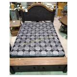 Ashley signature full bed frame (scratches on