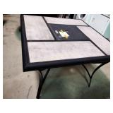 "Patio table 40""sq"