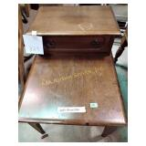 """End table 22""""h x 19""""w x 29""""d"""