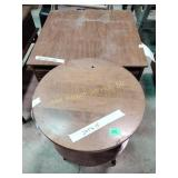 """End table 21""""h x 23""""w x 29""""d & accent table 24""""h"""