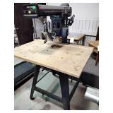 "Craftsman contractor series 10"" 3.0 HP radial arm"