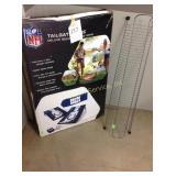 Colts bean bag game, CD rack