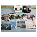 (2) View Masters & slides
