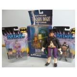 Batman figurines most are new in the box