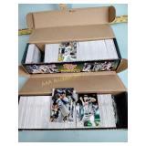 2 Topps baseball card sets