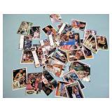 Basketball cards, Magic Johnson, Larry Bird,