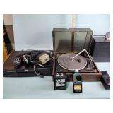 Turntable, DVD, other electronic equipment