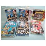 Pirates of the Caribbean cereal boxes and