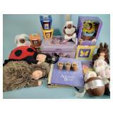 Books and Anne Geddes dolls