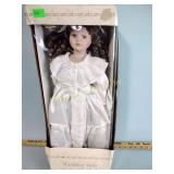 Wedding Day collectible doll