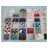 Craft beads, containers