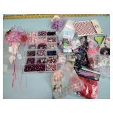 Craft beads & flowers