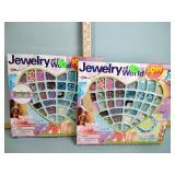(2) Craft bead sets