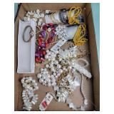 Costume jewelry, necklaces, ladies